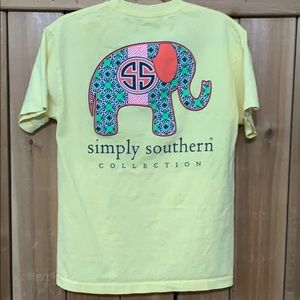 Simply Southern Elephant Tee M